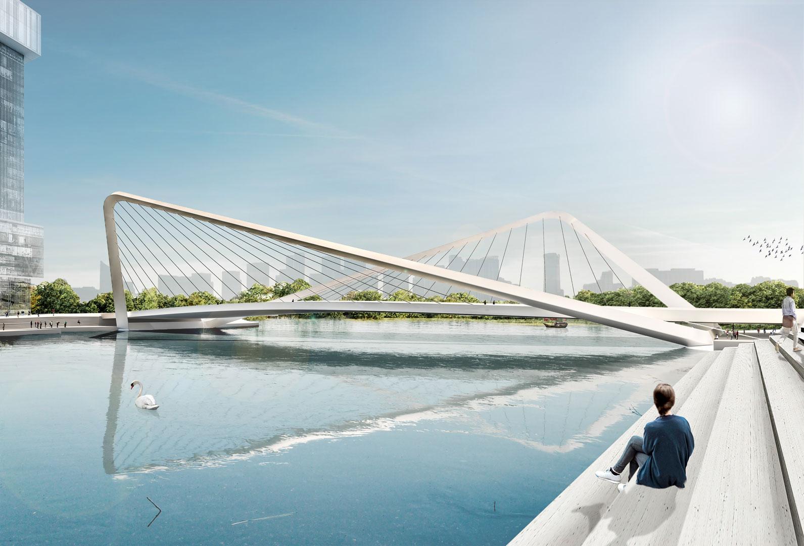 Visualization Hangzhou Bridges Day